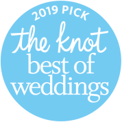 The Knot 2019 winner badge