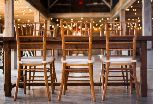 Chairs - Harvest Table and Standard Height Chiavari