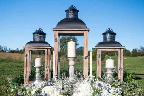 Lanterns and candle holders